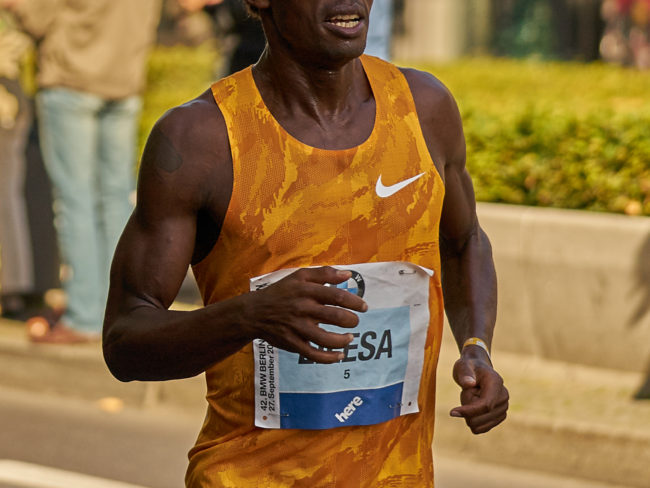 photo of Feyisa Lilesa